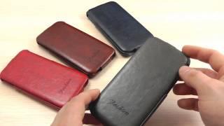 Обзор: Эксклюзивный Кожаный Чехол-Флип для HTC One 2 M8