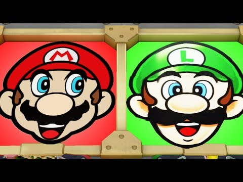 Super Mario Party - Minigames - Mario vs Bowser vs Luigi vs Peach