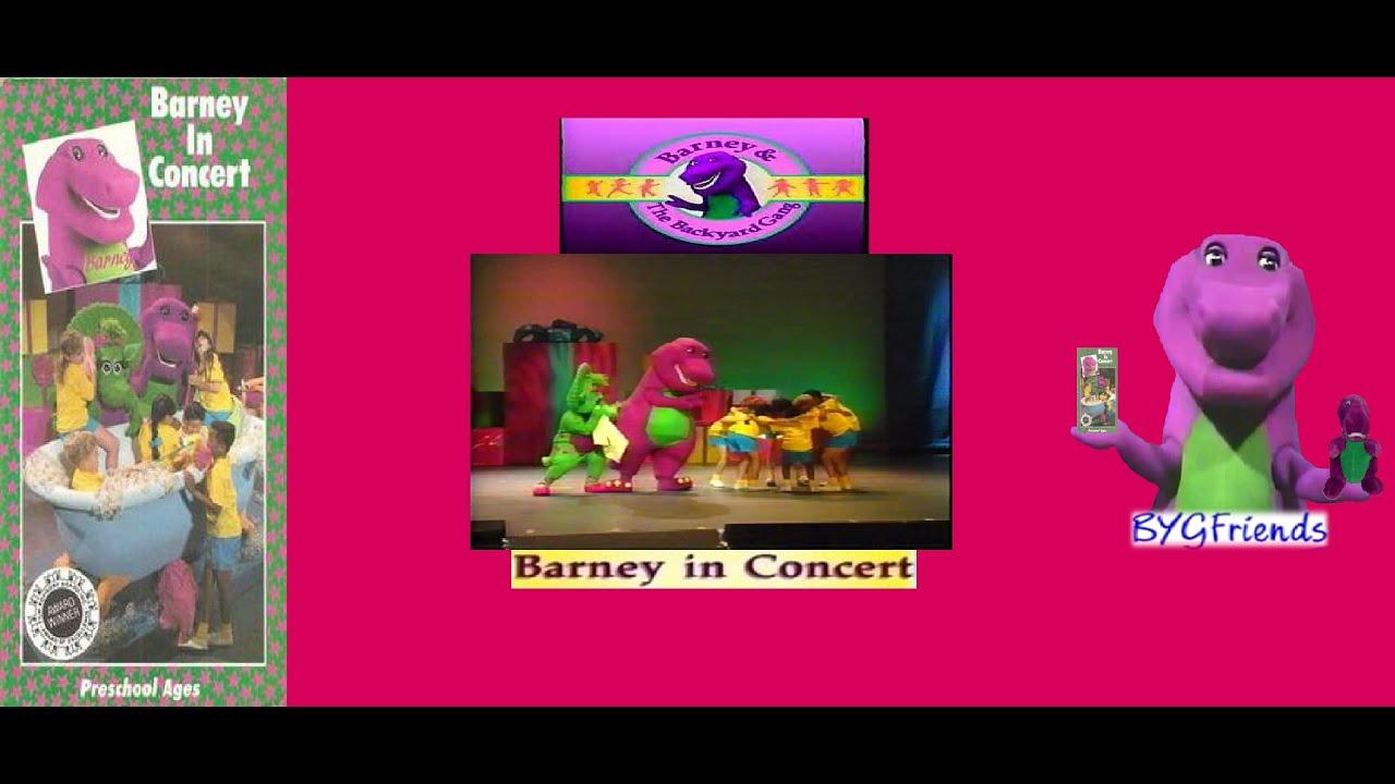 Barney & The Backyard Gang Episode 7: Barney In Concert ...