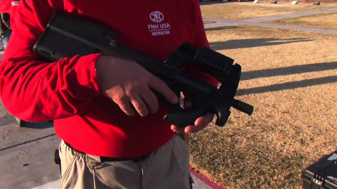 Fn P90 Demonstration And Firing Youtube