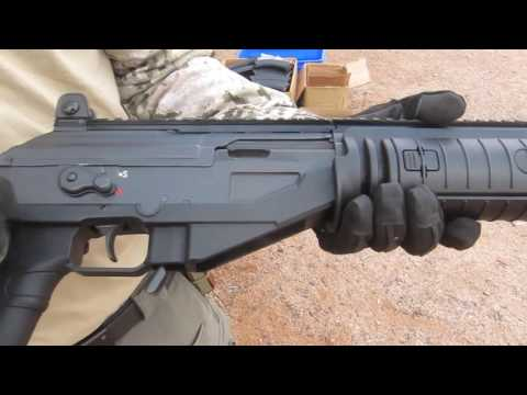 IWI Galil ACE Rifle in hands of Israeli SpecOps Instructor