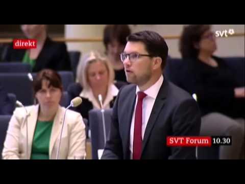 PINSAMT LÖFVÉN!! Måste ses! Jimmie Åkesson förnedrar en okunnig Stefan Löfven