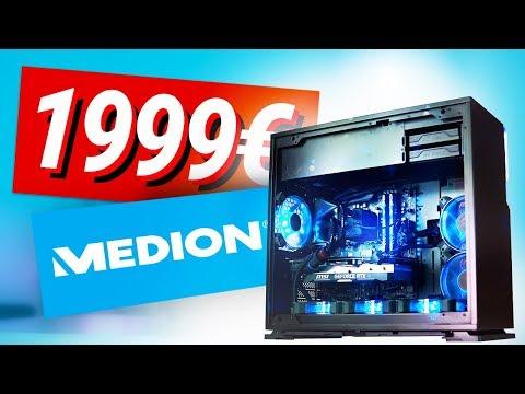 Was Kann Der 2000€ MEDION PC Aus Der TV-WERBUNG?! - ERAZER X87075