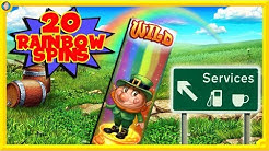🚀NEW !!! Ted Slot + 20 RAINBOW SPINS on Slots O' Gold !!!