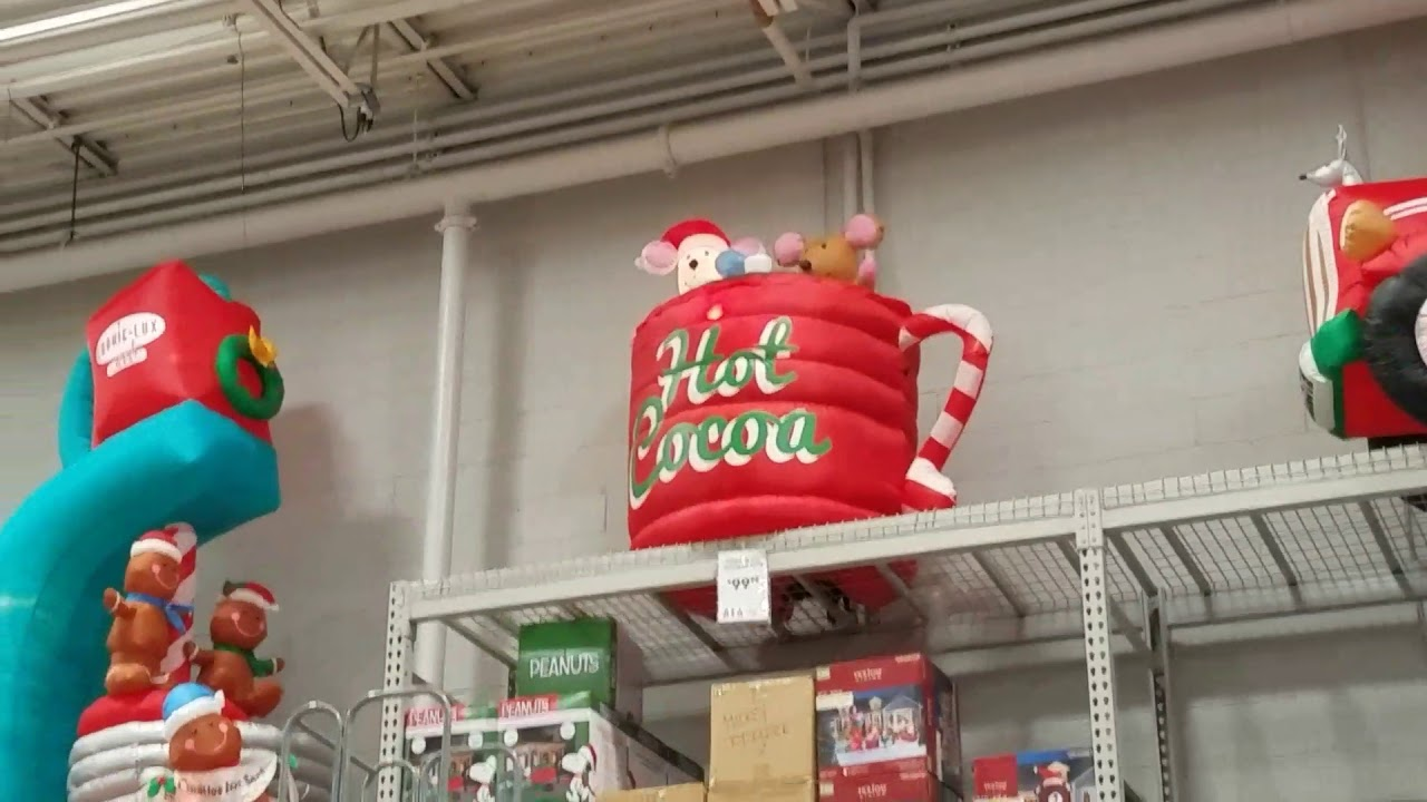 lowes christmas inflatables 2017