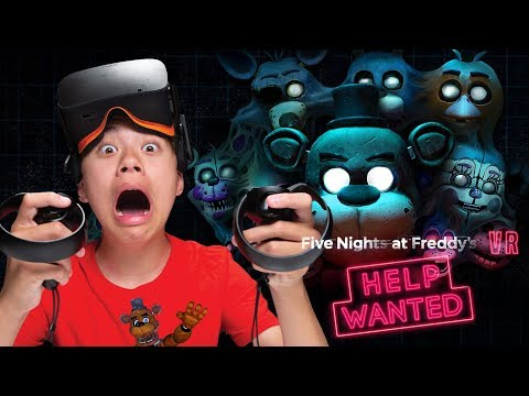 FIVE NIGHTS AT FREDDY'S VR: HELP WANTED!!!  I Almost Had A Heart Attack! SCARY!