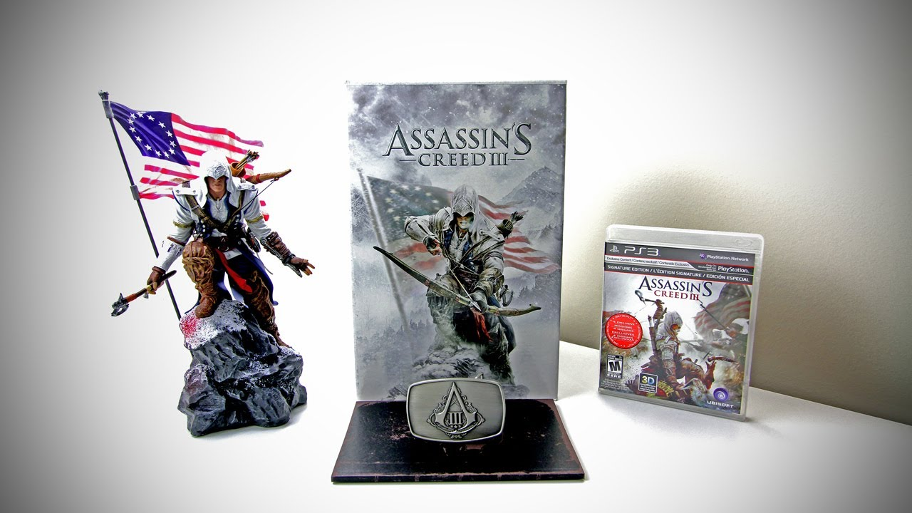 Assassin's Creed 3 Limited Edition Unboxing (Assassin's ...