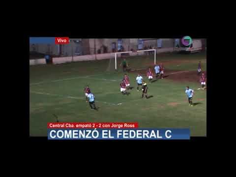 RESUMEN CENTRAL CBA VS JORGE ROSS   FEDERAL C