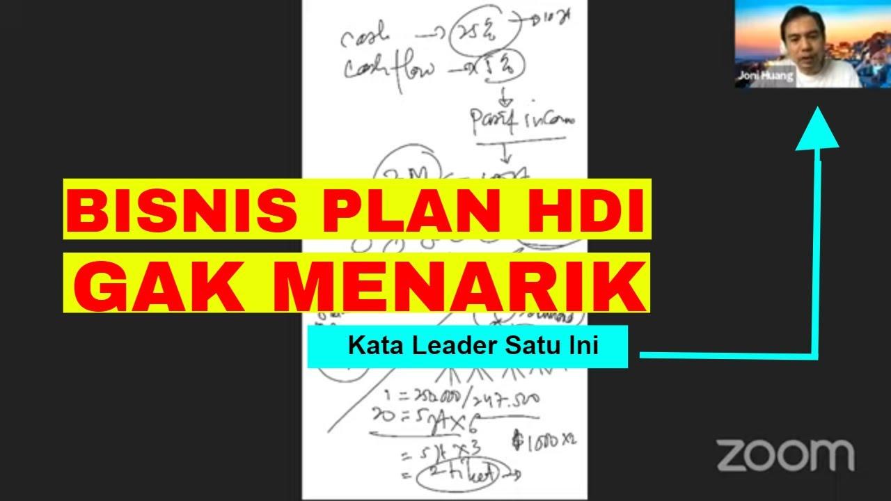 Bisnis HDI Marketing Plan-nya GAK MENARIK - Kata Leader ...