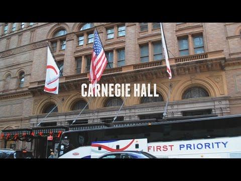 Carnegie Hall/NYC Vlog