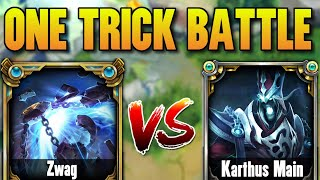 #1 XERATH WORLD VS. KARṪHUS ONE TRICK! (HE GETS OWNED) - League of Legends