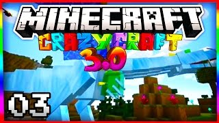 "Minecraft Crazy Craft 3.0 ""QUEEN DRAGON & DUPE TREES"" #3 (SMP Server)"