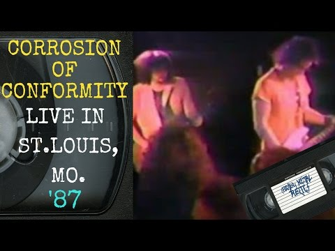 Corrosion Of Conformity Live in St. Louis MO September 28 1987 FULL CONCERT