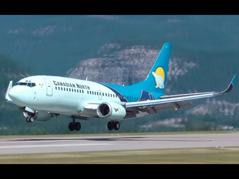 Canadian North Airlines Boeing 737-300 Classic Landing