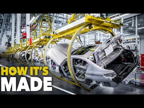 BMW 5-Series CAR FACTORY - HOW IT