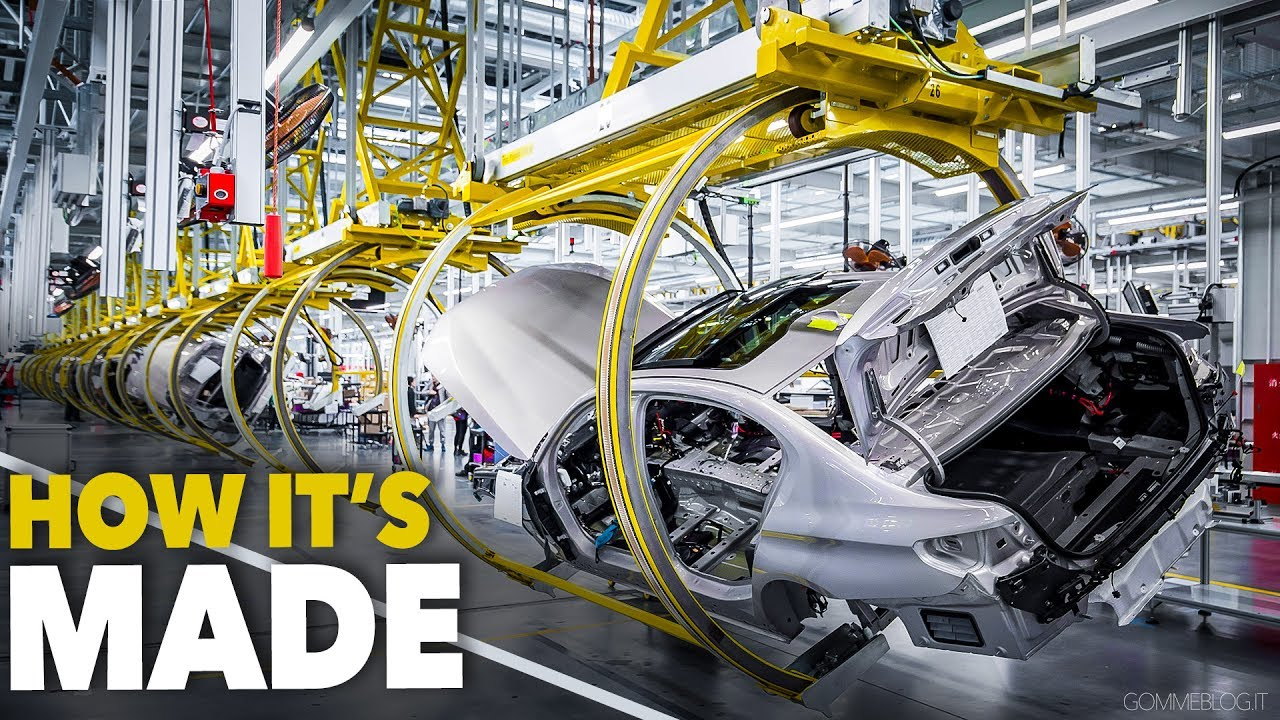 Bmw 5 Series Car Factory How It S Made Cina Production
