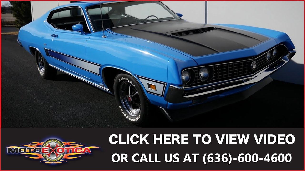 1970 Ford Torino GT || SOLD