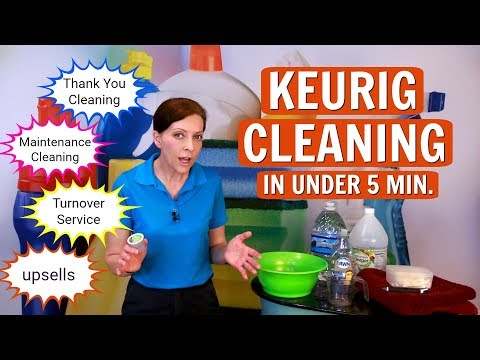 Maintenance Cleaning - How to Clean a Keurig Coffee Maker in Less than 5 Minutes