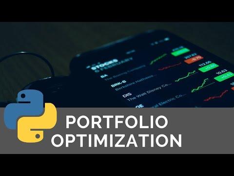 Python For Finance Portfolio Optimization