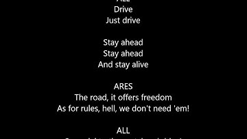 the lightning thief musical- drive- lyrics