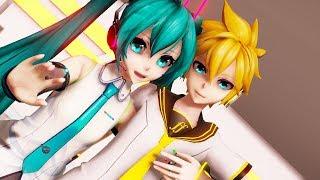 【MMD】LUVORATORRRRRY! - Hatsune Miku ・Kagamine Len (English / Romaji Sub)【初音ミク ・鏡音レン】