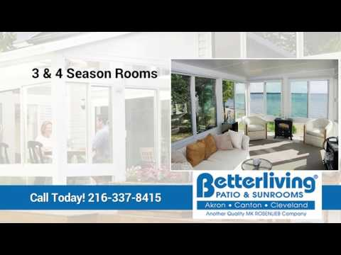 Betterliving Sunrooms of Akron Canton Cleveland | Strongsville OH Patio and Deck Enclosures