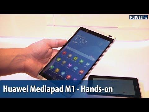 Huawei Mediapad M1 8.0 im Hands-on auf dem MWC 2014 | deutsch / german