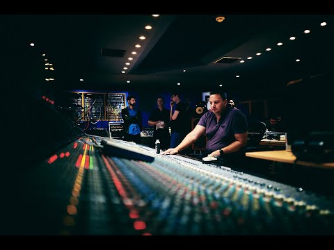 Live Band - Single Take - Recording Techniques with Andy Dudman at Abbey Road Studio 3