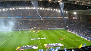 FC Porto vs SC Braga - Entrada das equipas