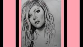 Avril Lavigne - Wish You Were Here  - speed drawing