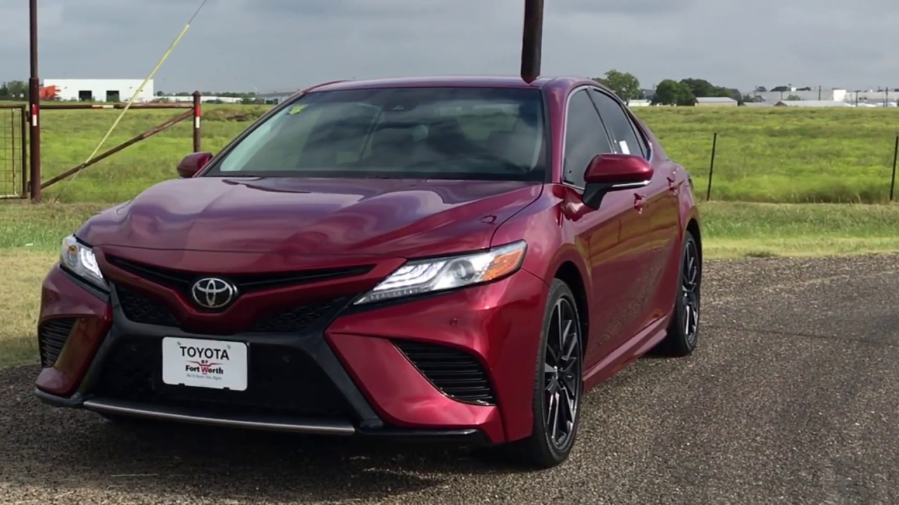 The Camry To Get Excited About 2018 Toyota Camry Xse Review