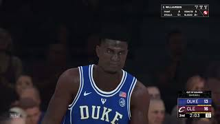 LeBron James vs Zion Williamson Highlights | NBA2K19