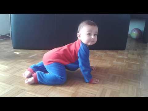 Mein baby am tanzen,9 monate alt