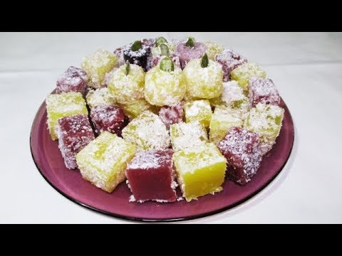 RAHAT TURCESC DE CASA-Homemade Turkish delight|Everything for everyone