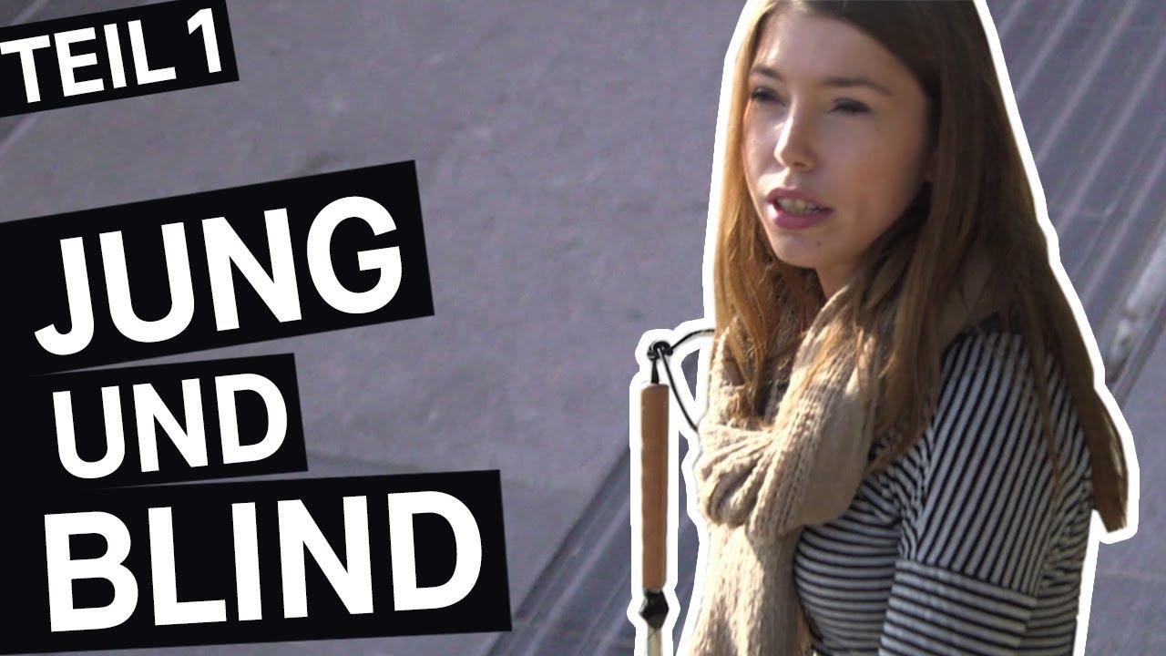 Blindes Mädchen