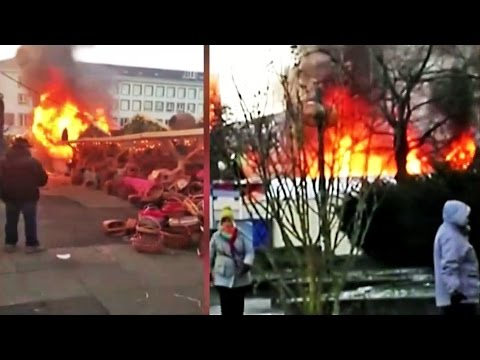Darmstadt: Katastrophe verhindert
