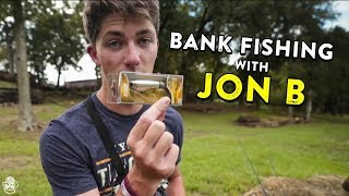 Bank Fishing Tips with Jon B!