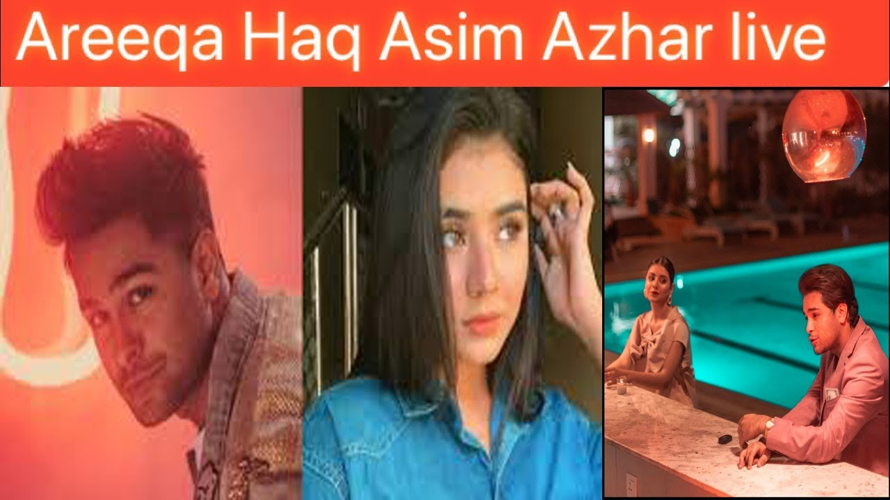 Areeqa Haq And Asim Azahar New Song And Live On Instagram