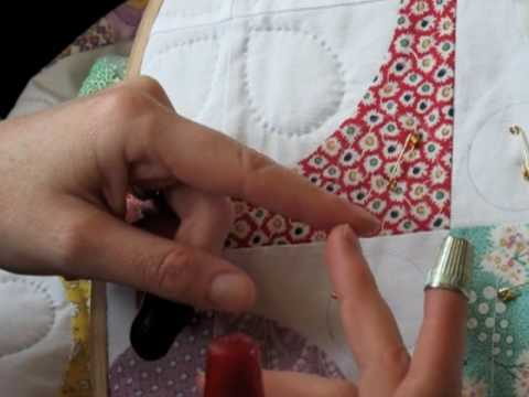 Hand Quilting 4 -- Thimbles - YouTube : quilting thimbles - Adamdwight.com