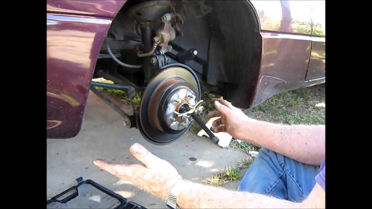 Subaru Svx Rear Wheel Bearing Replacement