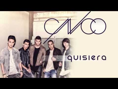 CNCO- Quisiera (English Lyrics)