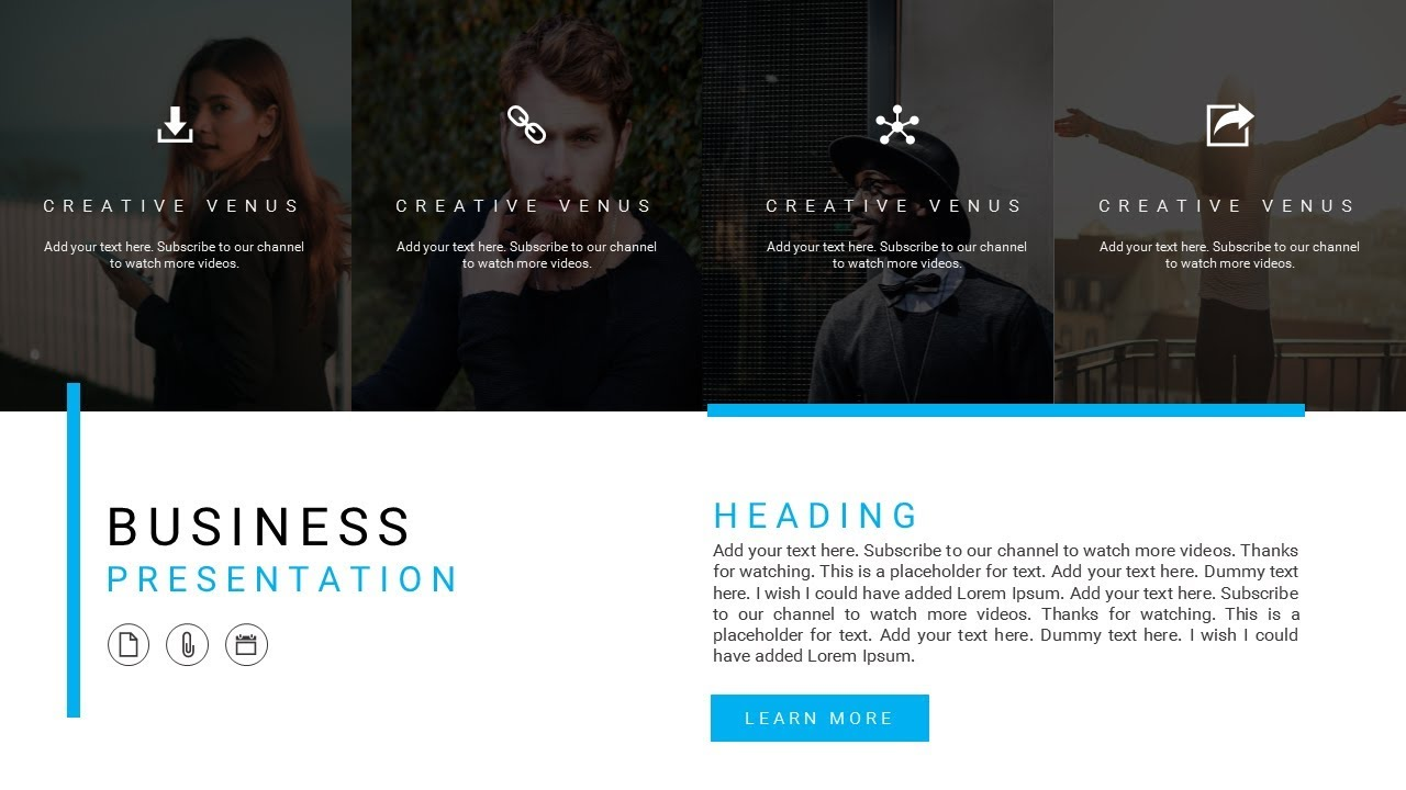 how to create a professional presentation design in microsoft, Presentation templates