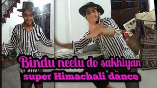 BINDU NEELU DONO SAKHIYAN (Himachali song) - Best Himachali folk dance on song. #mathurspecial!