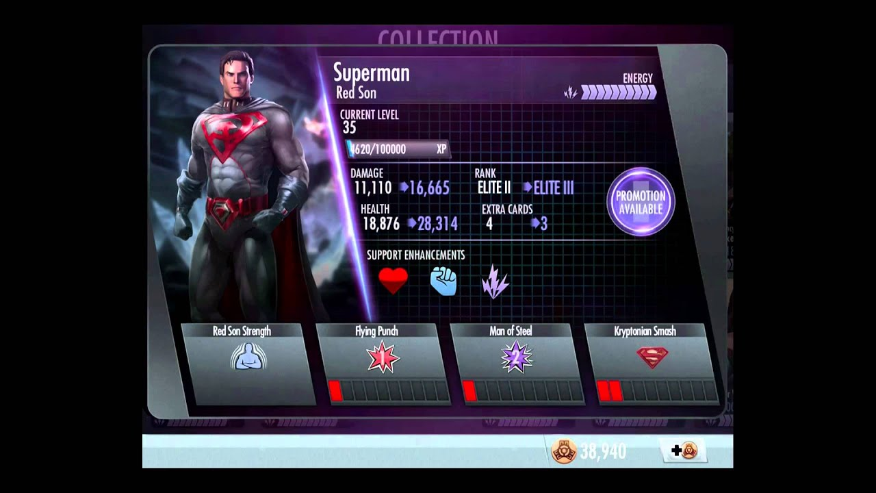injustice gods among us ios red son pack promoted to elite