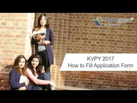 Learn How to fill KVPY 2017 Application Form   Step by Step Guide
