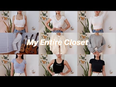 Trying On All The Clothes I Own