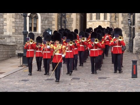 Changing the Guard at Windsor Castle - Saturday the 8th of September 2018