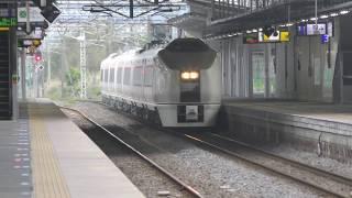 回9580M 651系 K103編成 日立駅通過