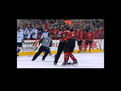 Mike Simpson vs Jaynen Rissling Dec 2, 2012