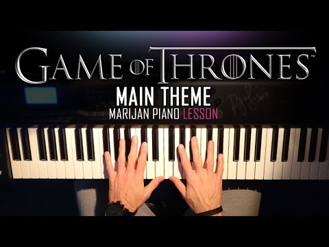 How To Play: Game Of Thrones - Main Theme | Piano Tutorial Lesson + Sheets